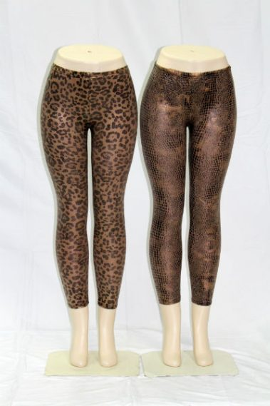 Printed  Copper Leggings EMB – 25145-B4-5