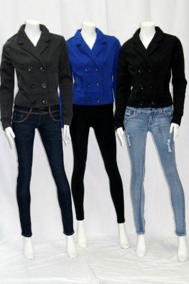 Inside Fleece Jacket with Pockets USO – J639-S2B