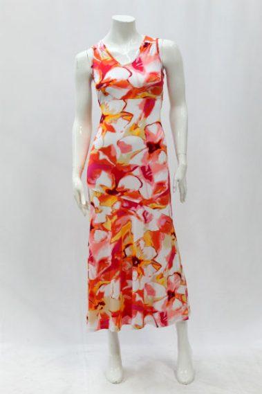Floral Print Maxi-Dress KIM – 90310G-5
