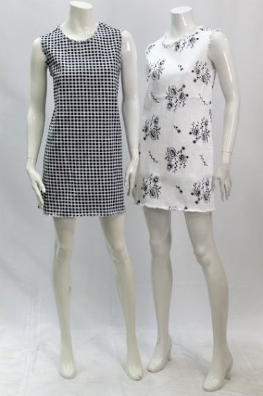 Stretchy Dress with Side Pockets RD – 49W180S-S7B