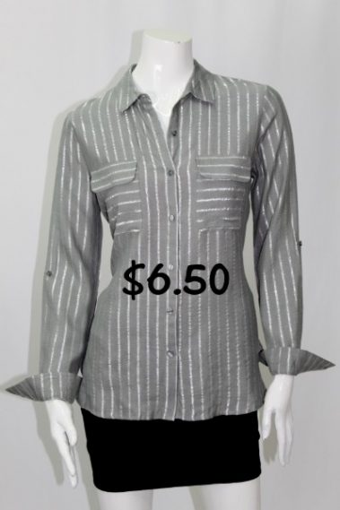 Roll-Up Sleeves Striped Shirt MAN – 25695-12