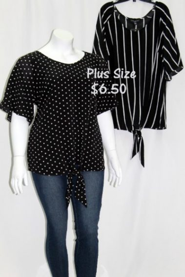 Bell-Sleeves Plus Size Top FRD – 80058PD-9