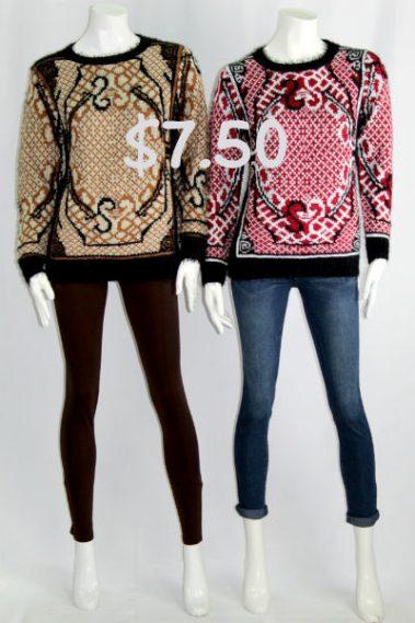 Crew Neck Sweater E&Y – SW5952-T