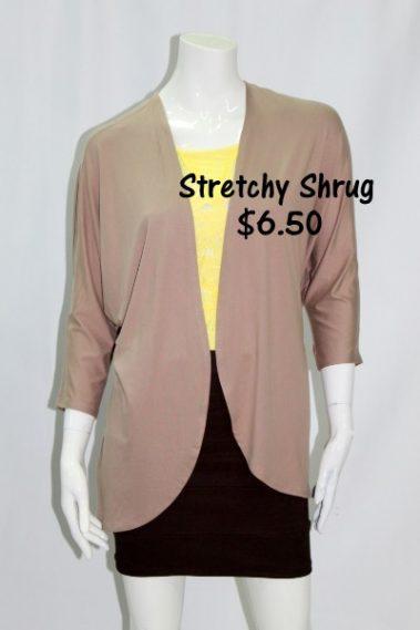 3/4 Sleeves Stretchy Shrug MAN – 26374-8