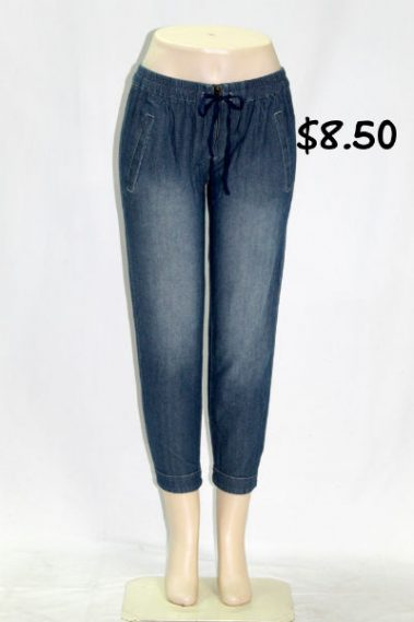 Ankle Jeans with Elastic DAV – P1934-FRT