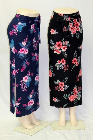 Side-Slit Maxi-Skirt RUN – 44681-R