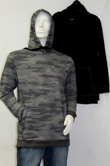 Men's Hoodie with Pockets RUN – M5000-S11M