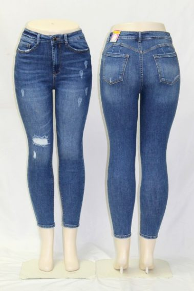 High Rise Stretchy Skinny Jeans WAX – 901300-S10B