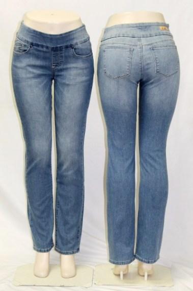 Straight Legs Pull-On Jeans DSA – Catherine-MLB-O