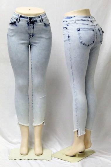 High-Rise Ankle Jeans DSA – Alexa-DBLC-S7B